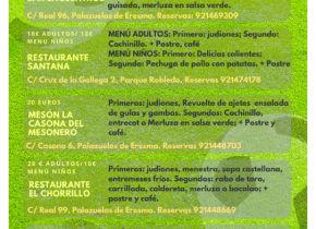 """A los participantes y familias  de la Real Sitio Cup: """"Menú del Futbolista"""" (iniciativa de los restaurantes del municipio)"""