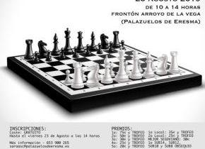 IV TORNEO DE AJEDREZ AYUNTAMIENTO DE PALAZUELOS DE ERESMA