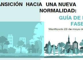 GUÍA DE LA FASE 1 Modificada 23 de mayo de 2020 (Ministerio de Sanidad)