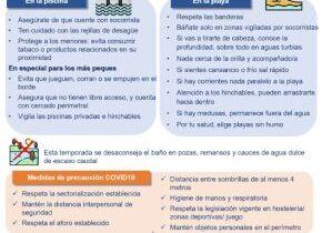 Ministerio de Sanidad: recomendaciones respecto al baño este verano
