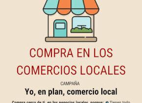 Campaña de apoyo al comercio local