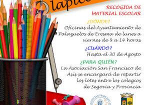 Campaña Ningún niñ@ sin lapiceros