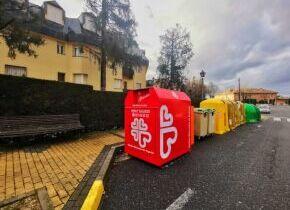 Instalados en el municipio contenedores para ropa usada