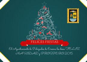 El Ayuntamiento de Palazuelos de Eresma les desea Felices Fiestas