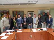 Toma de posesión del nuevo concejal de DNP Oscar Sanz Llorente