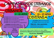 Campamentos Urbanos verano 2015