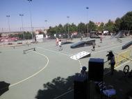 Fotos de la competición de bicicletas celebrada en Palazuelos el Domingo 12/07/2015 s pistas deportivas de Palazuelos de Eresma.