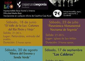 Paseos Luna Llena (Fundación Caja Rural)