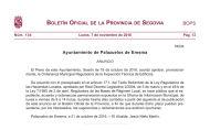 Anuncio acuerdo provisional Ordenanza Municipal Reguladora de la Inspección Técnica de Edificios.