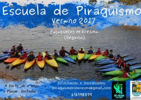Escuela de piragüismo: cursos a partir de 8 años Junio - Agosto.