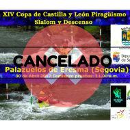XIV Copa CyL de slalom y descenso CACELADA por la sequía