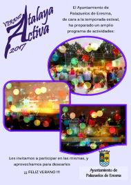 Agenda Atalaya Activa Verano 17