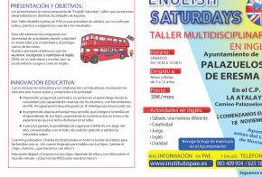 TALLER MULTIDISCIPLINAR EN INGLÉS, ENGLISH SATURDAY
