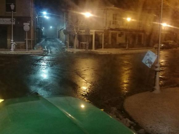 Calle Real, accesos, 07:00 horas viernes 26 de enero